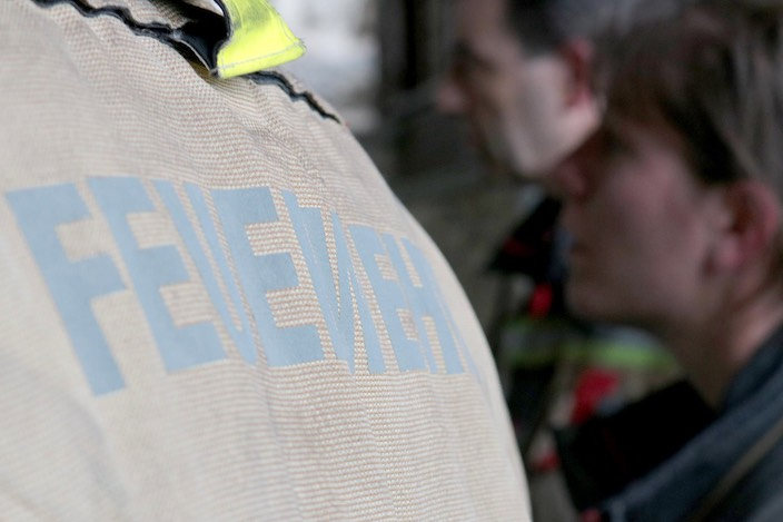 Thomas Dummermuth, Kommandant der Feuerwehr Bödeli, war mit dem Übungseinsatz zufrieden. Die nächste Übung steht bereits am Mittwoch an.