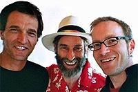 Thomas Blättler, Erich Fischer und Benno Kaiser (vlnr) bringen die Klänge des Karnevals - gosimg100O00c80085577a80b3000012010q25