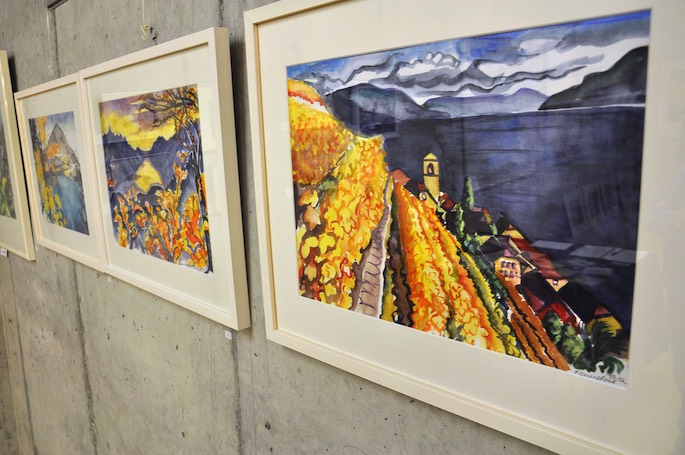 Die farbenprächtigen Bilder von Hannelore Wüthrich zeigen Landschaften rund um Thuner-, Brienzer- und Genfersee.