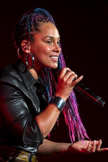 Sängerin Alicia Keys zeigt sich vom Delta-Video am Niederhorn inspiriert.