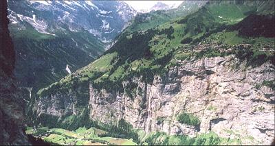 Klettersteig Lauterbrunnen : Jungfrau zeitung nepalbrücke und tyrolienne inklusive