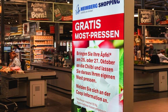 Jungfrau Zeitung Dosenbach lässt den Herbst rocken