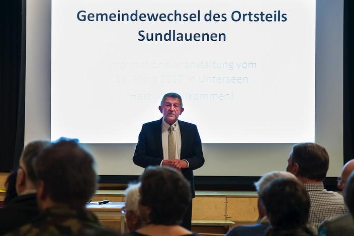 «Bei einem Nein wären wir nach diesem grossen Aufwand nicht in fünf Jahren für eine weitere Abstimmung bereit. Für uns wäre der Ortswechsel dann definitiv vom Tisch», machte Jürgen Ritschard klar.