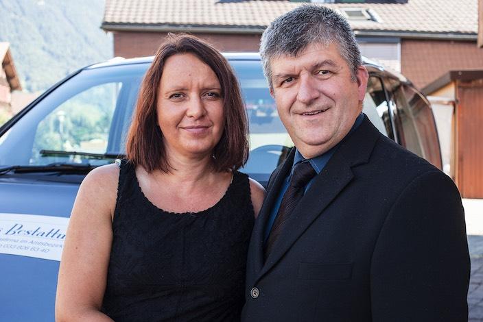 Die neuen Firmeninhaber: Eva und Samuel Hess.