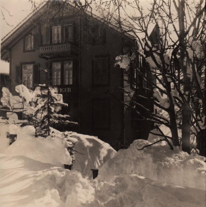 Das heutige Alphotel Eiger in Beatenberg war das Geburtshaus von Hans Hürner.