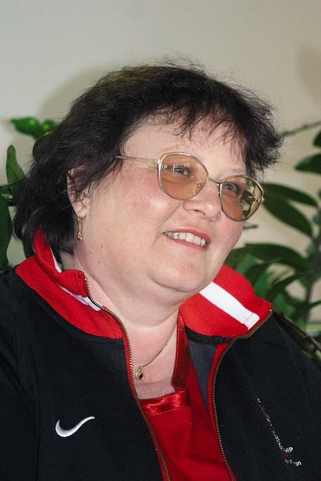 Esther Michel ist stolz, als Volunteer an der Eishockey-WM mitwirken zu dürfen. - gosimg10Hw02ae0404807080b3000012011ja0