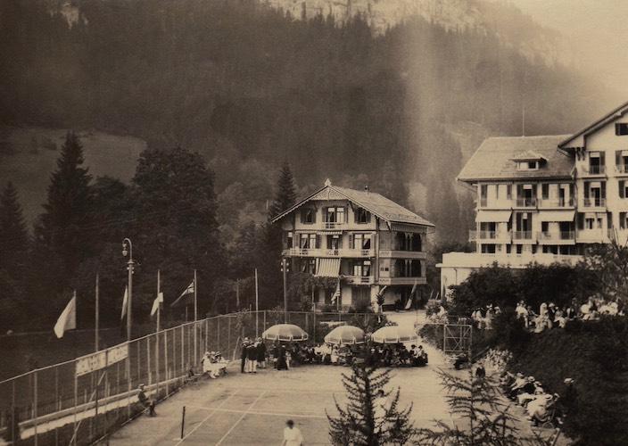 Das Hotel Regina war ausschliesslich eine Adresse für die vornehme Gesellschaft – bis es 1934 abbrannte.