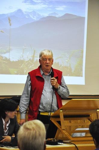 Günter Müller ist Koordinator des Projekts