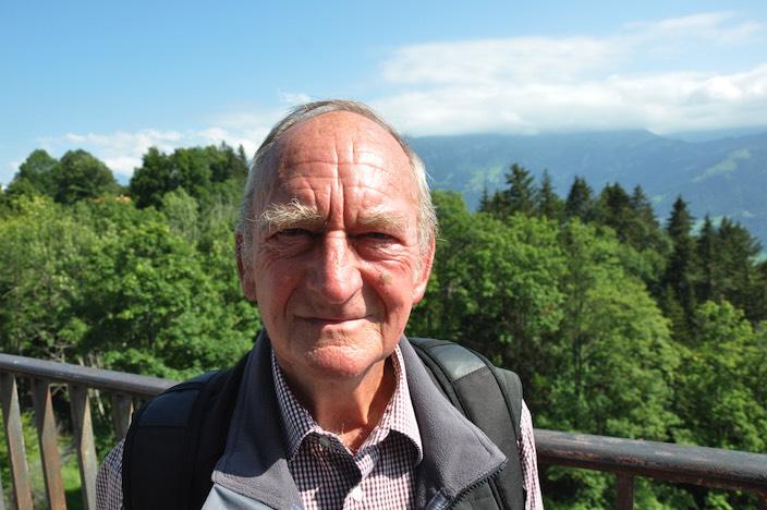 Ernst Jaun blieb Beatenberg als Einwohner stets treu. Er ist verheiratet und hat drei Kinder.