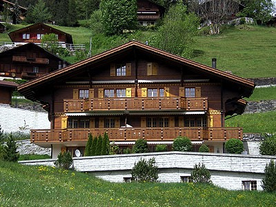 Jungfrau Zeitung Rustikal Wohnen Im Chalet Chamonix