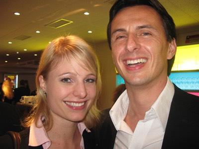 Kam trotz Absage des Red Bull Air Race 2008 in Interlaken: Daniel Kallay (rechts), General Manager von Red Bull Schweiz. Begleitet wurde er von Radio ... - gosimg10LM0190012c808080b3000012010wqy