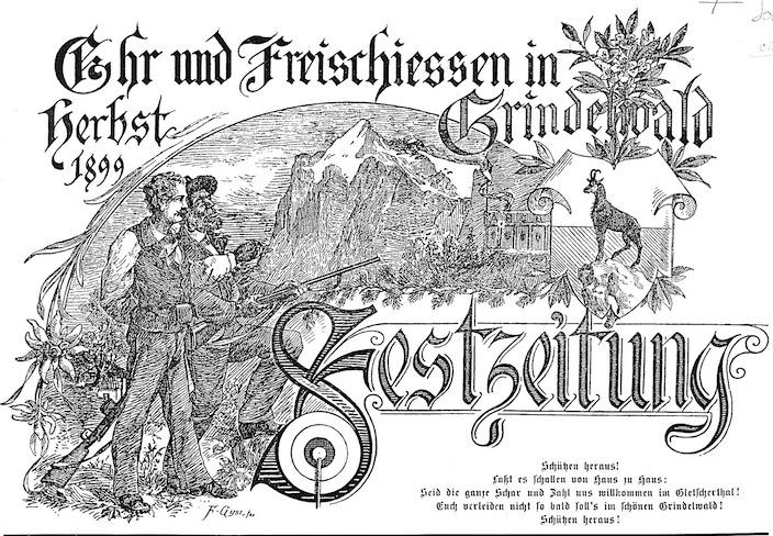 Jungfrau Zeitung - Heraldische Geschichtsstunde