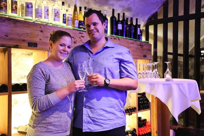 Sie haben spektakulär aufgeholt und dürfen sich nun auf eine Wellnessbehandlung im Ermitage Wellness- und Spa-Hotel in Schönried freuen: Daniela und Peter Feller.