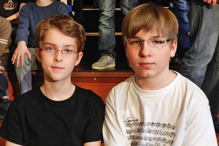 Deutsche Jungs von der Kultur