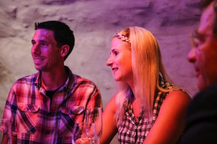 … das freute besonders die Gewinner Claudia und Christian, die den Bund der Ehe diesen Samstag eingehen werden.