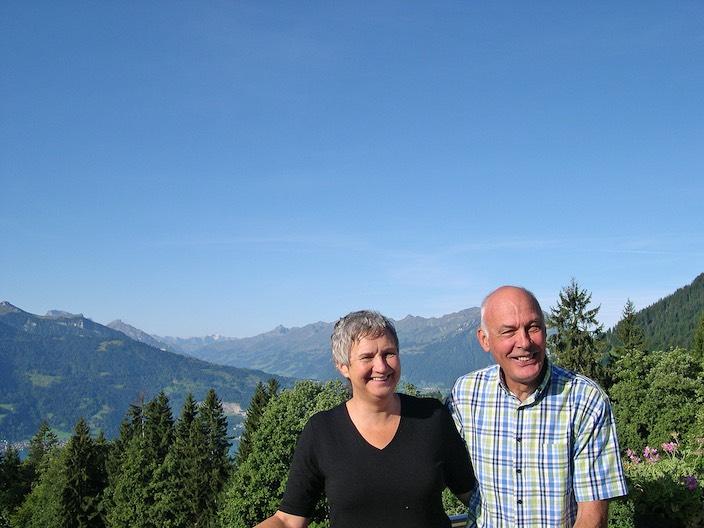 Abraham und Christine Josi haben gemeinsam die Lebensgemeinschaft «im Aufwind» aufgebaut und gehen nun in Rente.