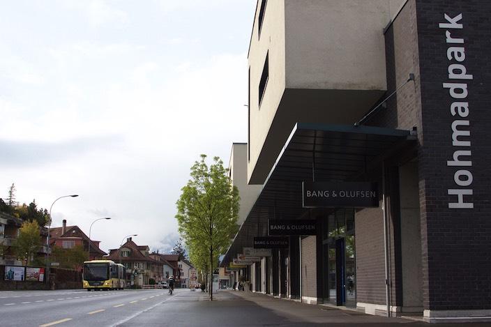 Der Standort Thun mit einer Ausstellungsfläche von 280 Quadratmetern wird neu Hauptsitz der Media-Line GmbH.