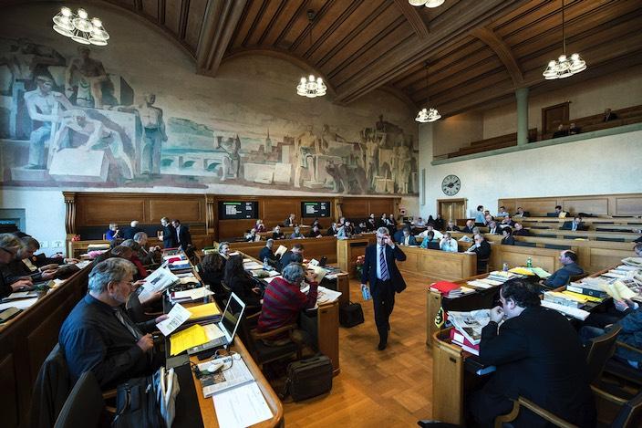Im nächsten Jahr werden die Sitze im Grossen Rat neu verteilt.