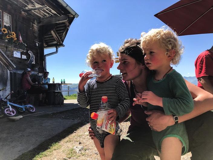 Marlies Gafner will ihre Alpleidenschaft an ihre Kinder weitergeben.