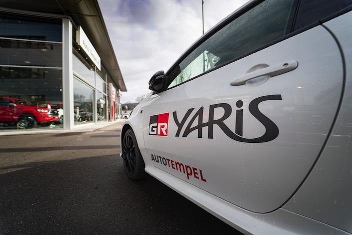 Mit dem Toyota Yaris GR hat das Team der Auto Tempel AG wieder ein Hochleistungsfahrzeug im Angebot.