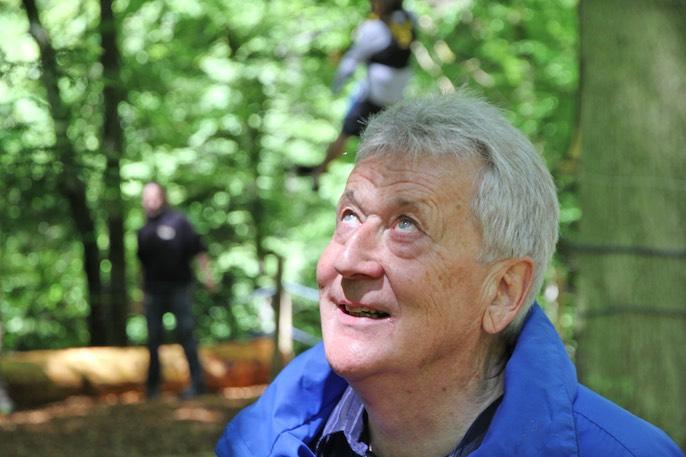 Der Wald von Hostel-Pionier Erich Balmer ist mit dem «Vertical Rush» um eine weitere Attraktion reicher.