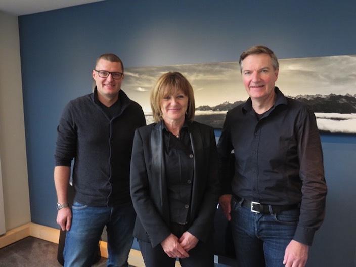 Rolf, Beatrice und Walter Tännler (vlnr) sind künftig im grösseren Einzugsgebiet tätig.