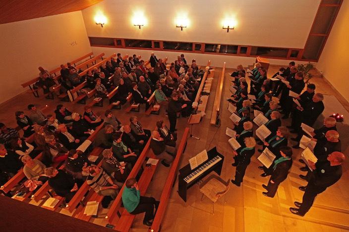 Sang in mehreren Sprachen: der Gemischte Chor Beatenberg.