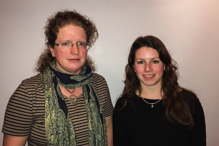 Die beiden neuen Mitglieder im Vorstand des Voltige Team Interlaken: Franziska Blaser Butt (links) und Michaela Abegglen.