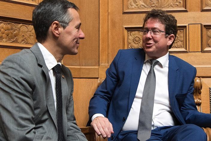 Nationalrat Ignazio Cassis ist neuer Bundesrat (Bildergalerie)