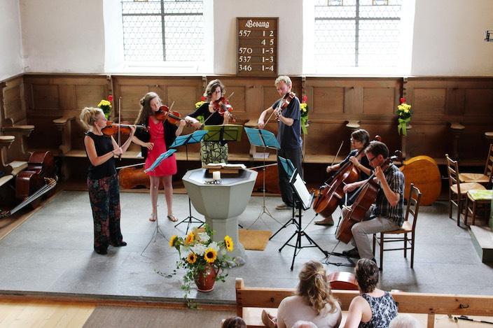 Niederländische Jugend spielte im Rahmen der Beatenberger Musiktage auf.