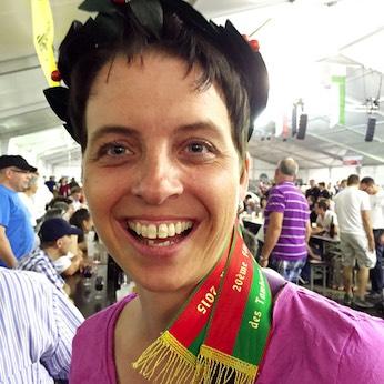 Siegerin Priska Schmocker …