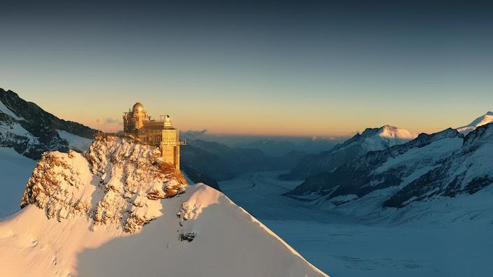 Auch das Jungfraujoch wird bis Ende April nicht mehr besucht werden können.