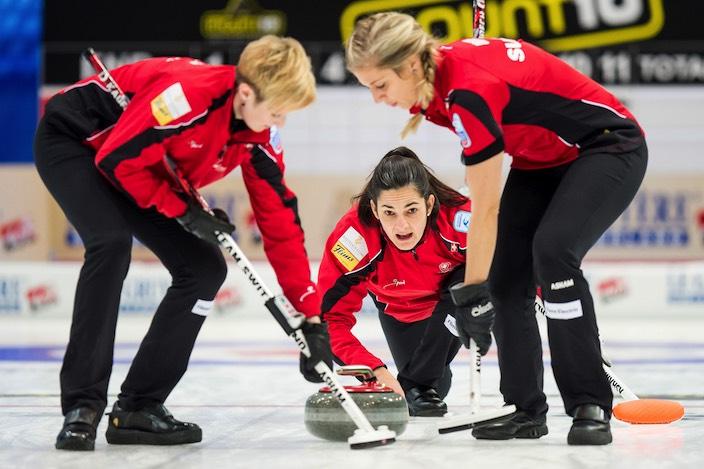 Jungfrau Zeitung - Kampf um den Halbfinaleinzug