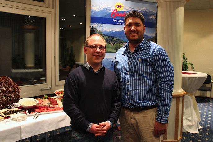 Neu gewählt wurde Oliver König (links) für das Dorint Hotel. Er ersetzt somit Rob Bruijstens, der den Rücktritt aus dem Vorstand gegeben hat. Luli Rexhepi (rechts) wurde für eine weitere Amtszeit von vier Jahren wiedergewählt.
