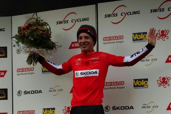 Erster Schweizer an zwei Tagen des internationalen Mountainbike-Rennens vom Wochenende: Nils Brun.